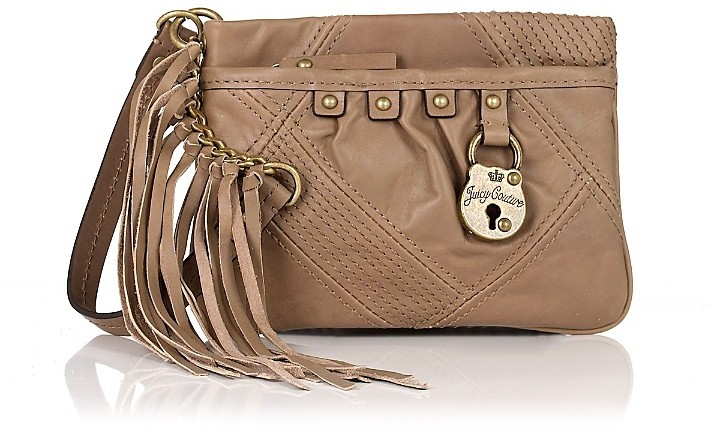 Juicy Couture Padlock Wristlet
