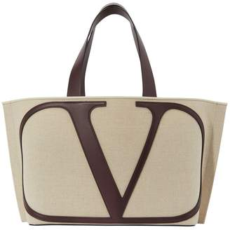 Valentino Garavani Go Logo shopping bag