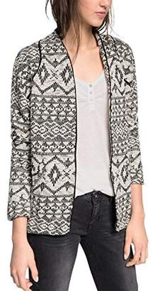 Esprit edc by Women's Long Sleeve Cardigan - Black