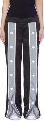 NO KA 'OI No Ka'Oi 'Lole Wawae' waist panel button placket pants