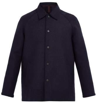 Harris Wharf London Single Breasted Wool Jacket - Mens - Navy