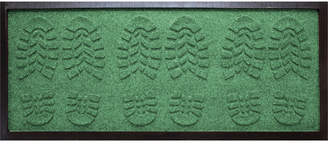 """Bungalow Flooring Water Guard Lug Sole Boot Tray Light Green 15""""x36"""" Boot Tray"""
