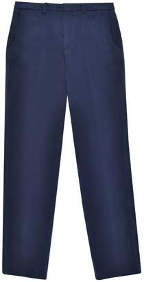 Duarte Navy Asymmetric Pockets Trousers