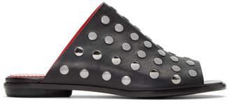 Proenza Schouler Black Studded Camp Sandals
