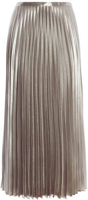Karen Millen Metallic Pleated Skirt