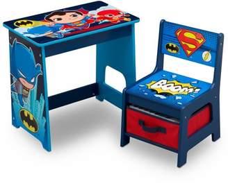 DC Super Friends Kids Wood Desk and Chair Set by Delta Children