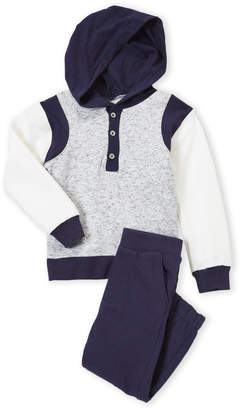 7 For All Mankind Toddler Boys) Two-Piece Hoodie Sweatshirt and Pants Set