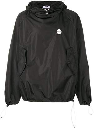MSGM pull-over hooded jacket