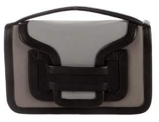 Pierre Hardy Alpha Neoprene & Leather Shoulder Bag