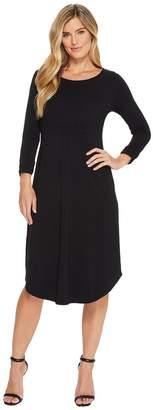 Mod-o-doc Cotton Modal Spandex Jersey Cinch Waist Dress Women's Dress