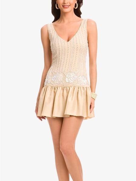 Nicolette Pearl Mini Dress