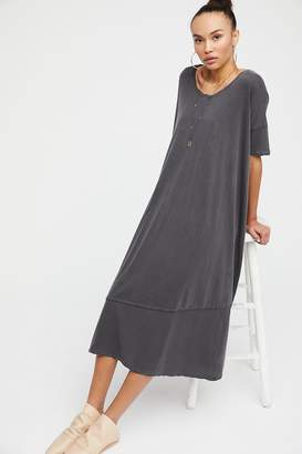 Fp Beach Pebble Beach Maxi T-Shirt Dress