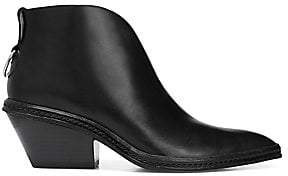 Via Spiga Women's Fianna Leather Booties