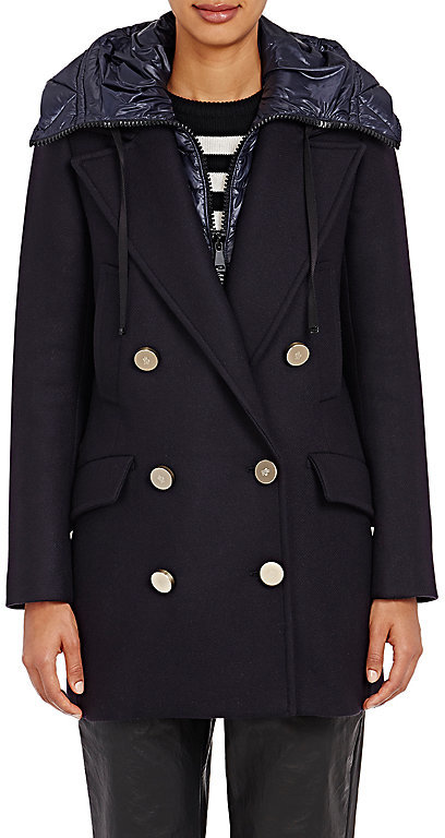 Moncler Moncler MONCLER WOMEN'S DOUBLE-BREASTED GALATEA COAT