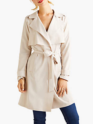 Yumi Wrap Trench Coat