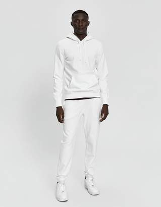 Reigning Champ Midweight Terry Hooded Sweatshirt in Winter White