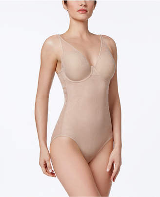 Bali Women's Ultra-Light Firm Tummy-Control Sheer Lace Body Briefer 6552