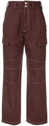 Heron Preston wide leg cargo pants