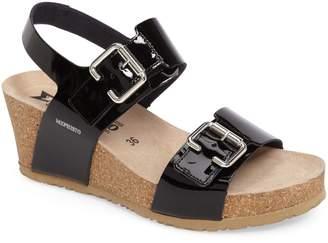 Mephisto Lissandra Platform Wedge Sandal