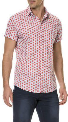 Rodd & Gunn Men's Mellons Bay Watermelon Short-Sleeve Sport Shirt