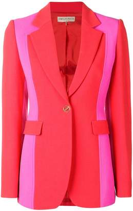 Emilio Pucci block colour fitted blazer