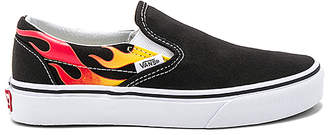 Vans Classic Slip On Flames