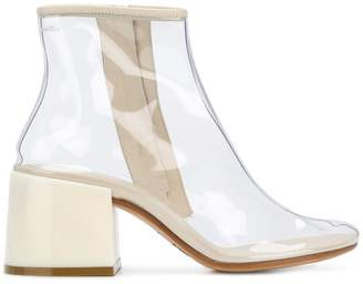 MM6 MAISON MARGIELA flared-heel ankle boots