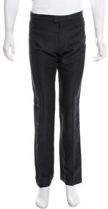 Alexander McQueen Striped Tuxedo Pants