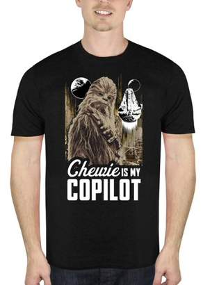Star Wars Movies & TV Solo: A Story Chewie Co-Pilot Men's Short Sleeve Graphic Tee, Up to size 2XL