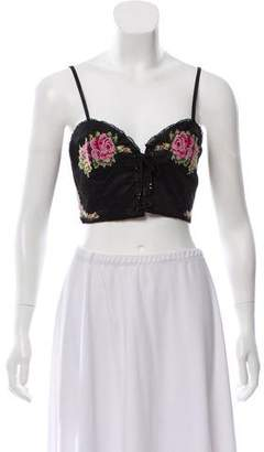 Alice McCall What A Flirt Crop Top w/ Tags