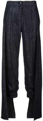 Hellessy cape detailed trousers
