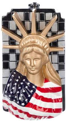 Timmy Woods Statue Of Liberty Wooden Bag