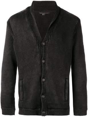 John Varvatos button knit cardigan