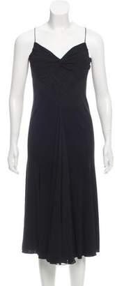 Armani Collezioni Sleeveless Midi Dress