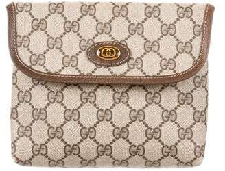 Gucci Vintage GG Plus Clutch