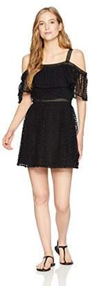 Jack BB Dakota Junior's Aitana Geometric Lace Dress
