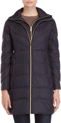 MICHAEL Michael Kors Cinched Side Down Coat