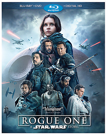 Rogue One: A Star Wars Story Blu-ray Combo Pack with FREE Lithograph Set Offer - Pre-Order