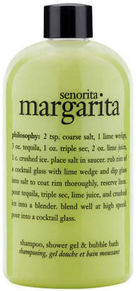 philosophy senorita margarita shampoo, shower gel and bubble bath gift with purchase