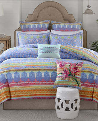 Echo Sofia Cotton 3-Pc. Full/Queen Duvet Cover Set Bedding