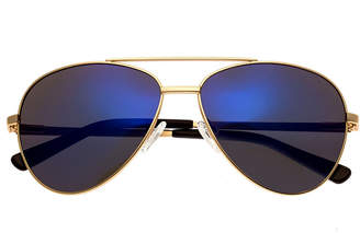 BERTHA Bertha Full Frame Aviator Sunglasses-Womens