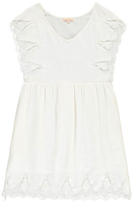 LOUISE MISHA Ongine Embroidered Ruffle Dress - Women's Collection $199.20 thestylecure.com