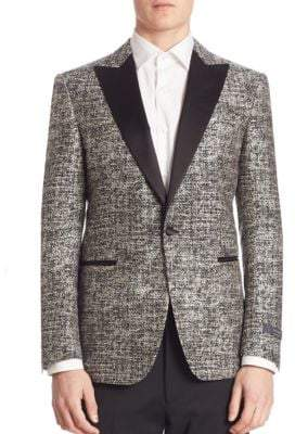 Pal Zileri Peak Lapel Formal Jacket