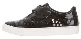 Rachel Zoe Patent Leather Low-Top Sneakers