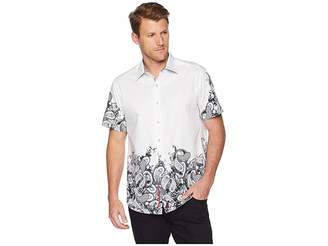 Robert Graham Hart Short Sleeve Woven Shirt
