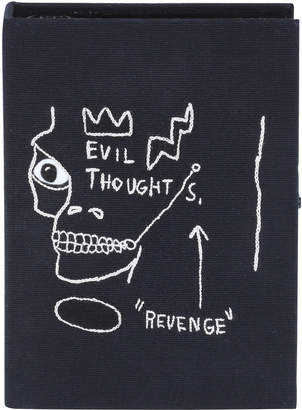 Olympia Le-Tan Olympia Le Tan Basquiat Revenge Artwork Book Clutch Bag