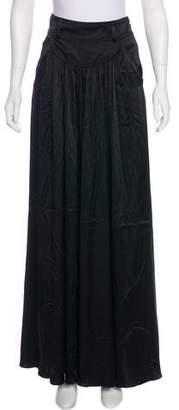 Thomas Wylde Silk High-Rise Pants