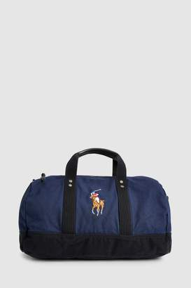 Mens Polo Ralph Lauren Navy Canvas Holdall
