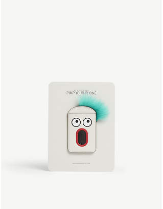 Anya Hindmarch White Face Leather Phone Case Sticker