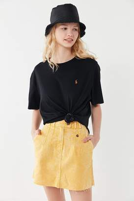 Urban Renewal Vintage Recycled Overdyed Polo Tee